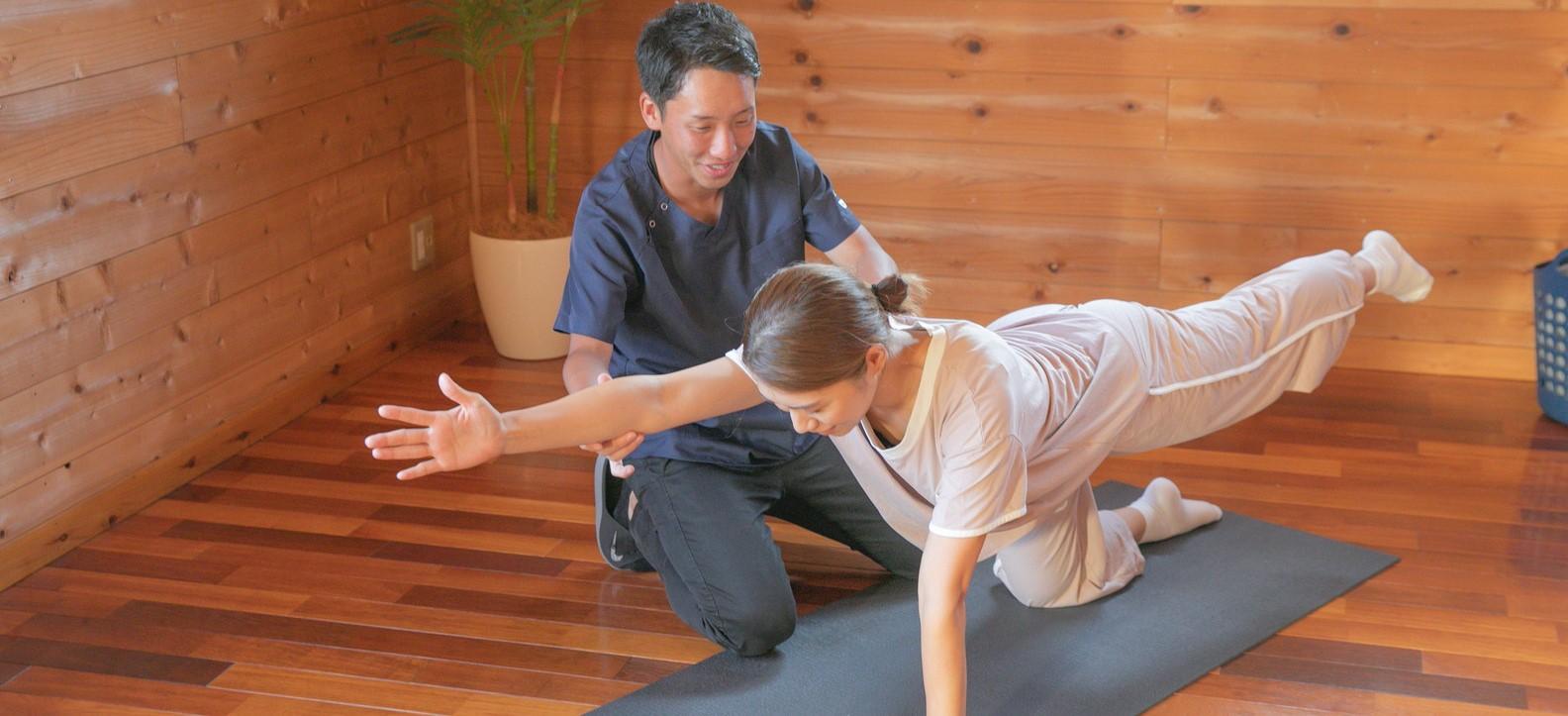 姿勢と動作の改善で